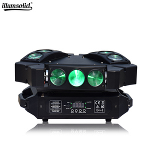 Mini spider light 9x12w Moving