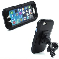 Bike Phone Mount With Waterproof Diving Case For IPhone 6S 6S Plus 6 6 Plus