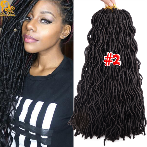 2x Wavy Janet Collection Havana Mambo Faux Locs 24roots Faux Locs