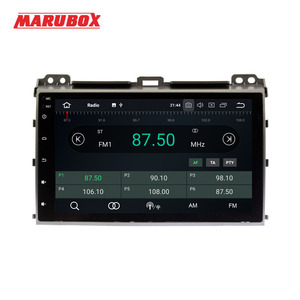 "Image 2 - MARUBOX 2 Din Android 9.0 Eight Ocre 4GB RAM For Toyota Prado 120 Land Cruiser 9"" IPS GPS Radio Car Multimedia Player 9A107PX5"