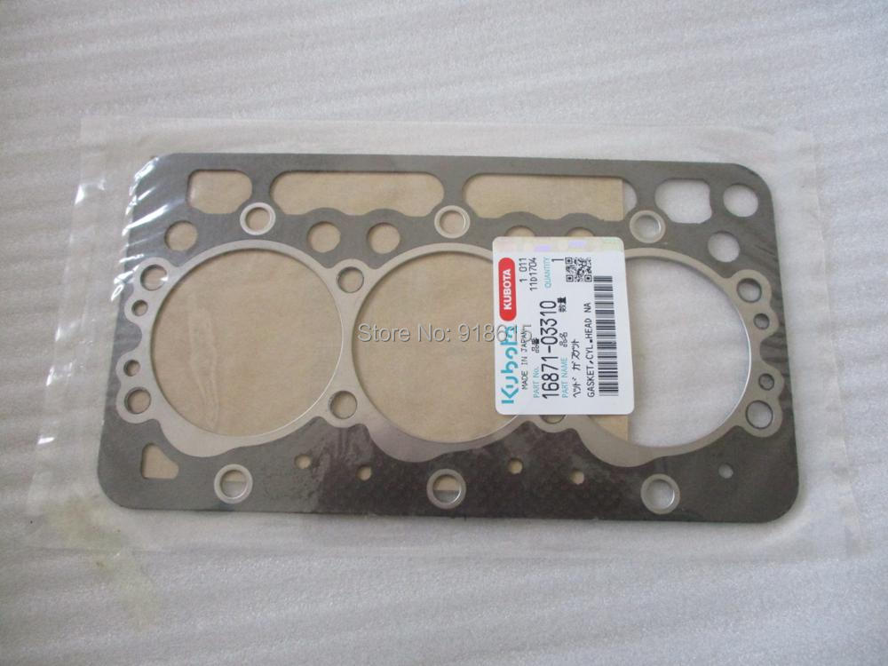 kubota D722 CYLINDER HEAD GASKET GENIUNE PART 16871-03310 bestlead 4 6 zirconia ceramic knife peeler set yellow white