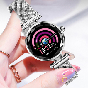 Image 4 - H1 Women Fashion Smartwatch Wearable Device Bluetooth Pedometer Heart Rate Monitor For Android/IOS Smart Bracelet