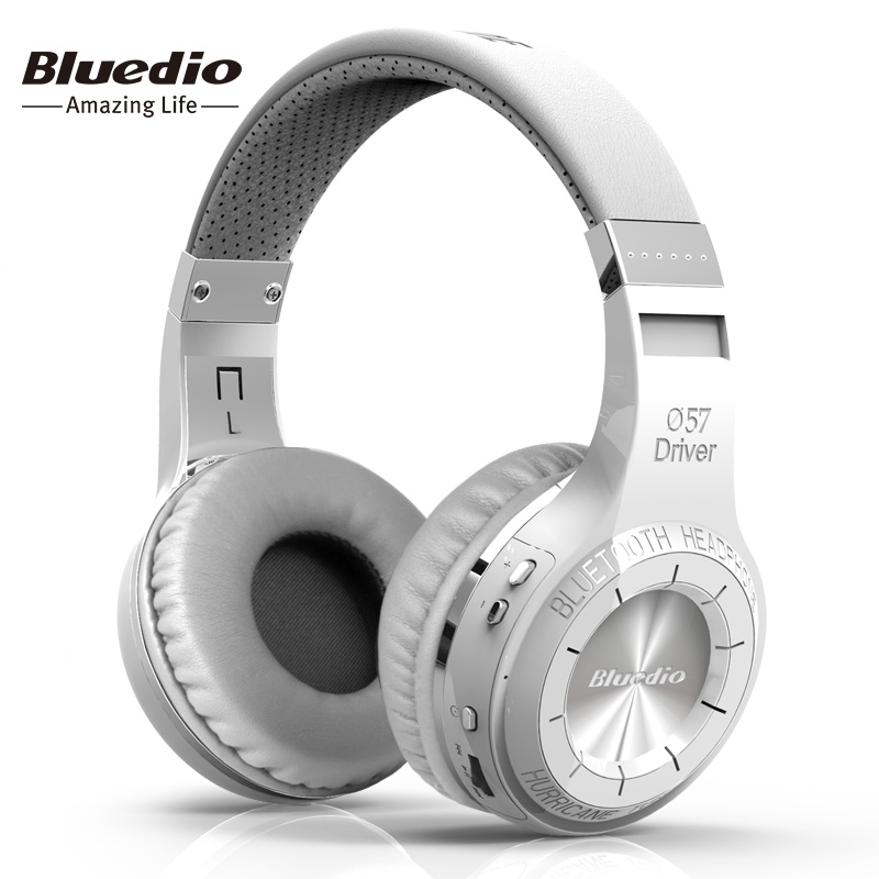 Bluedio HT (riprese Freno) Senza Fili Bluetooth Cuffie BT 4.1 Versione Auricolare Stereo Bluetooth built-in Microfono per le chiamate