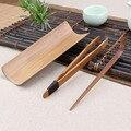 3 pçs/set Bambu Jogo De Chá Chaze Tea tongs/braçadeira Agulha Chá Chinês do Kung Fu Jogo de chá Acessórios Ferramentas Artesanais Naturais
