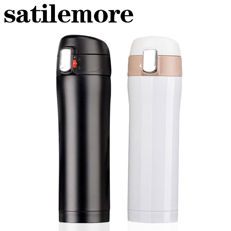 350/500ml Thermos cup Coffee Tea Vacuum Flasks Stainless Steel Insulation Cup Water Bottle