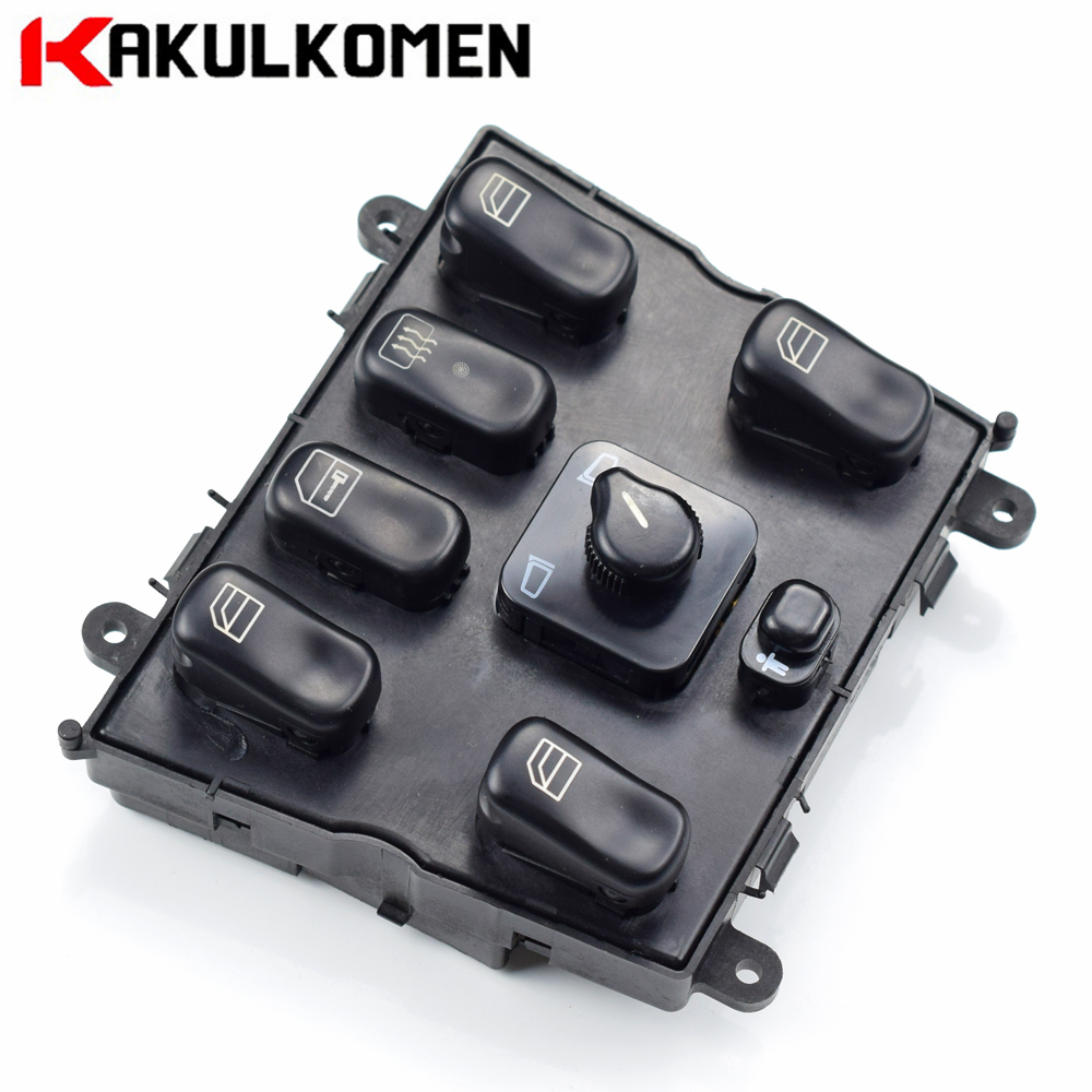Electric Master Power Window Lifter Control Switch Button For Mercedes Benz W163 ML230 ML320 ML350 1638206610