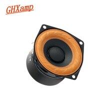 Ghxamp 2.5 Inch 15W Full Range Speaker Cloth Hanging Edge Hifi TV Computer Desktop Bluetooth Audio Unit Loudspeaker Desktop 2pcs