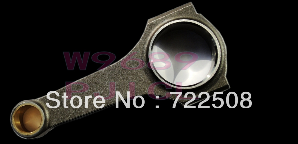 Connecting Rod for Clio R5 turbo Megane Conrod Con Rod Rods bielle fit ARP rod bolt 3/8'' 5/16'' free shipping