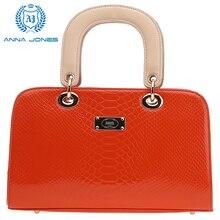 ANNA JONES 2016 tote bag  handbag womens purses handbags online shopping vintage handbags J8016R Red and Yellow