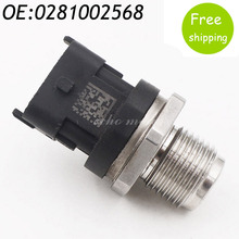 New Fuel Injection Rail Pressure Sensor For Renault Hyundai Fiat Lancia 0281002568
