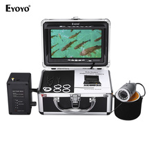 Eyoyo Up to date 15M Infrared LED Underwater Fishing Digicam 7″ Fish Finder Adjustable Battery Field 1000TVL CAM DVR Recorder Non-obligatory