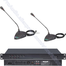 Professional Classical Digital Speak Talking Meeting Conference Mic Microphone System Chairman + Delegate MICWL 350U-C2 wireless conference microphone system uhf 4 100ch professional gooseneck desktop mic chairman delegate microphone for meeting