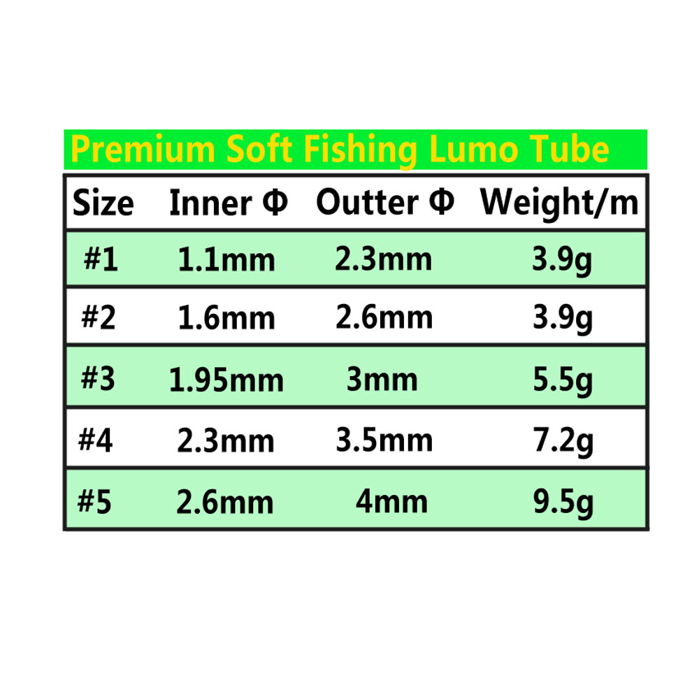 Wifreo-2meters-pack--Grade-Soft-Fishing-Silicone-Lumo-Tube-Fishing-Rig-Hook-Sleeve-Saltwater-Fishing