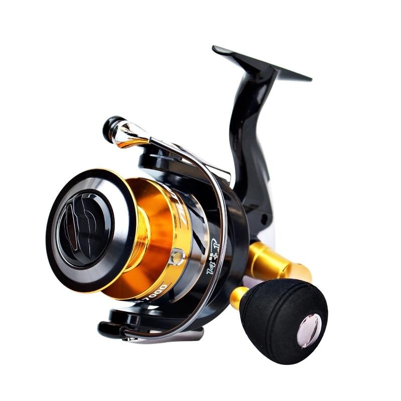 Spinning Fishing Reel GL 1000  2000 3000 4000 5000 6000 7000 Baitcasting Reel Rod Good Fishing Wheel Sea Fishing Tackle China