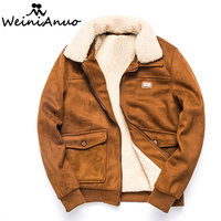 WEINIANUO 2017 Brand Winter Warm Thicken Coats Men High Quality Cotton Padd Coat Jackets Male Thick