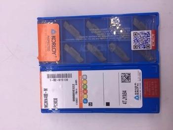 50pcs MGMN300-M PC9030 high quality.3.0mm wide cutting blade (KORLOY 60%-80%) FOR MGEHR MGEHL MGEVL MGEVR MGIVR MGIVL