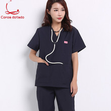 Hand-washing clothes for doctors and nurses separate body brush hand suit anti-wrinkle uniform isolation men women