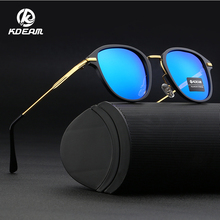 Fashion Men Sun Glasses From KDEAM Polarized Sunglasses Classic Design All-Fit Mirror Sunglass KD509