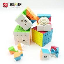 Qiyi Mofangge Profesionální Fidget Speed Cube Barevné Magic Cube Puzzle Antistress Rubi Cube Vzdělávací hračky pro děti Dospělý