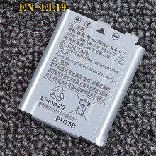 EN-EL19 RU EL19 литиевые батареи пакет ENEL19 Цифровая камера Аккумулятор для Nikon Coolpix S2600 S2700 S3100 S3500 S4100 S5200 S6400