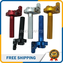 Motorcycle Parts High Quality CNC Aluminum Throttle Twist Grips Fit For Most Motorcycle Off-road Vehicle And ATV Free Shipping