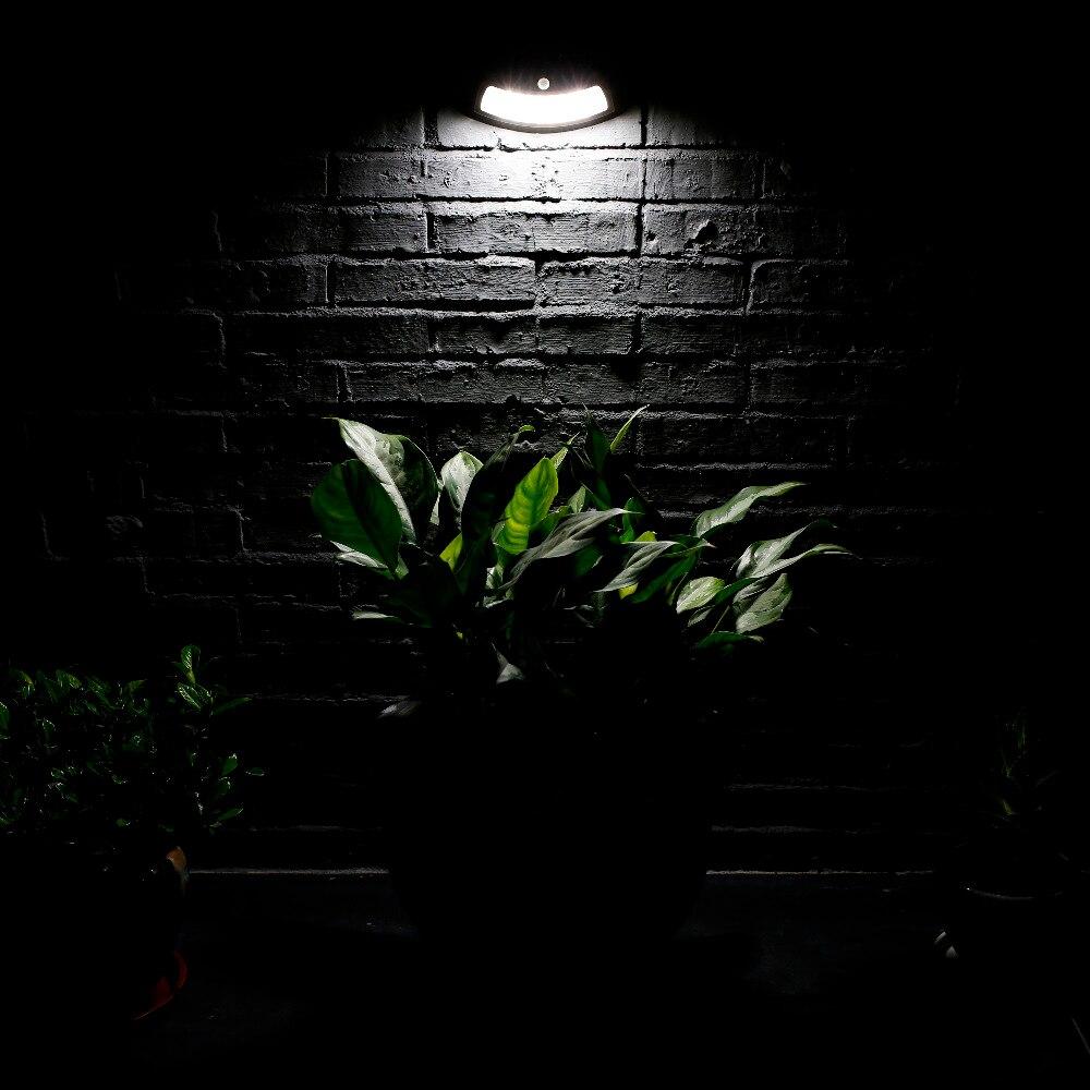 T-sunrise 2 Pack Outdoor Solar Licht Led-strahler Garten Lampe Solar Gutter Licht Außen Beleuchtung Für Outdoor Sicherheit Außenbeleuchtung
