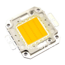 2pcs LED Lamp Chip 10W 20W 30W 50W 100W Cold White Warm White COB For LED Flood Light 45*45mil High Power SMD Spotlight 30-36V(China)