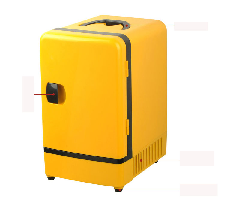 New MIni 12V 6L Auto Fridge Car Fridge Car Refrigerator Hot Sale ...