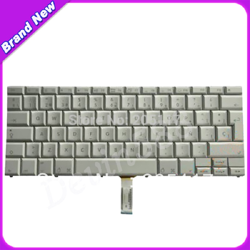 Original Spanish Keyboard For macbook pro A1226 A1229 A1211 15 ,one YEAR WARRANYT ! new laptop uk keyboard for apple mackbook pro 15 a1260 a1211 a1226 wholesale
