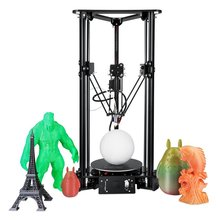 DIY 3D Printer High Speed Lcd Color Screen 3 D Print Kit Kossel Linear Delta Large Printing Size PLA/ABS Assemble Similar  A8