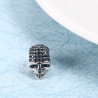 RainMarch Fits Pandora Charms Bracelets Original 925 Silver 2019 Skull Beads Skeleton Charm Bead For Jewelry Making Dropshipping