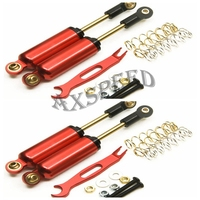 AXSPEED 4 PCS Lot 100mm Axial SCX10 D90 SUSPENSION SHOCKS SHOCKS ABSORBER 100MM RED Blue Green