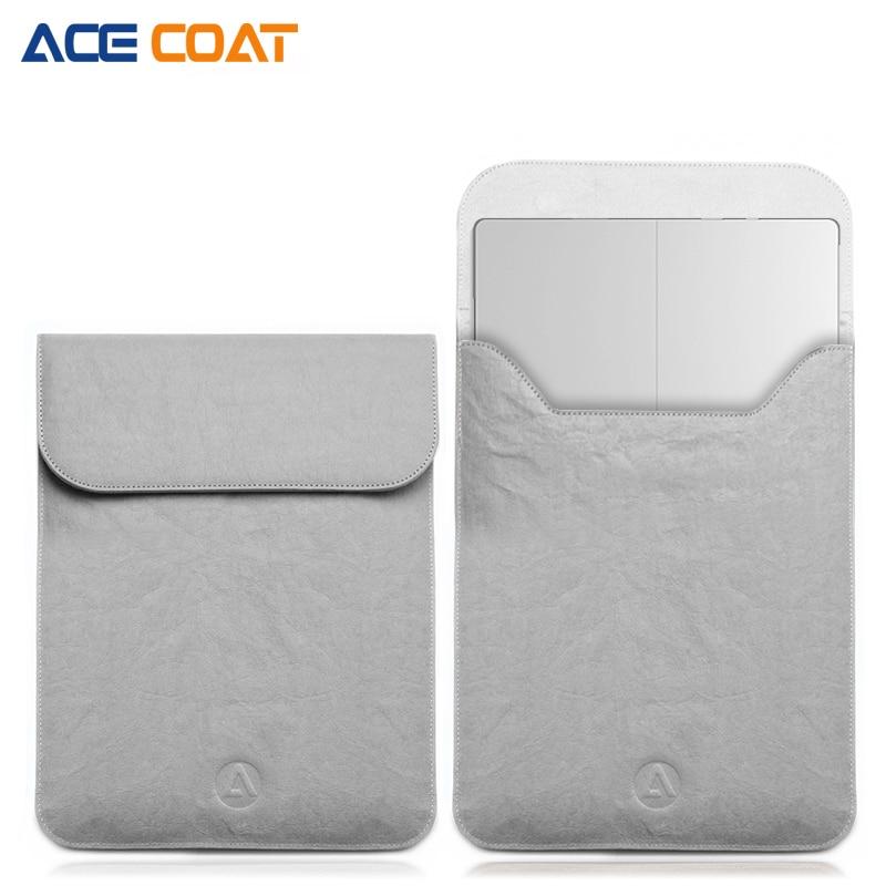 ACECOAT Washable kraft paper Laptop Sleeve for Microsoft Surface Pro5/4 Men Women Laptop Bag Notebook Case for 12.3 inch Tablet кейс для диджейского оборудования thon case for xdj rx notebook
