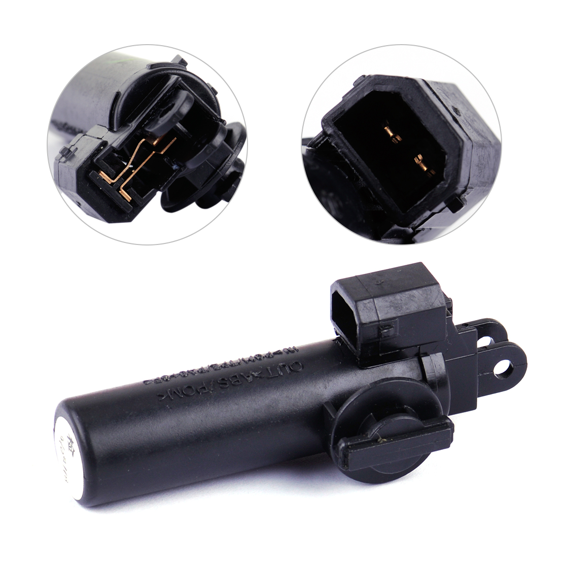 dwcx 2 pinos caixa de luva preta rolha amortecedor freio elemento interruptor 8k1880324 apto para audi