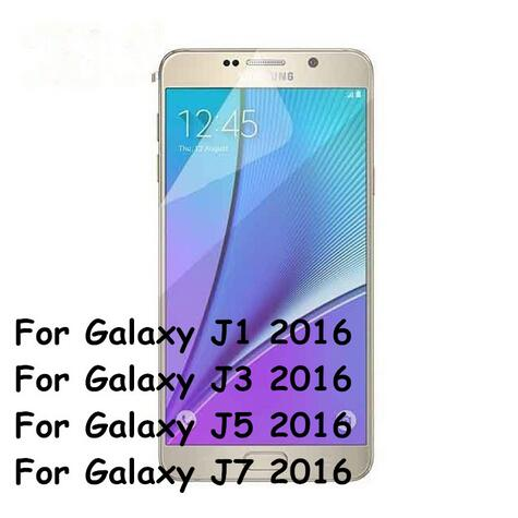 10pcs/lot Anti Scratch Ultra Clear LCD Protective Screen Protector Cover Film For Samsung Galaxy J1 J3 J5 J7 2016 Foil + Cloth