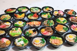 Image 4 - 2 個 1/6 スケールミニチュア日本シーフード麺ふり食品ドールハウスキッチンのためにブライスbjd人形のための子供