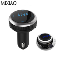 Car FM Transmitter MP3 Music Audio Player Bluetooth Car Kit Handsfree Voltage Detection Function 5V 2