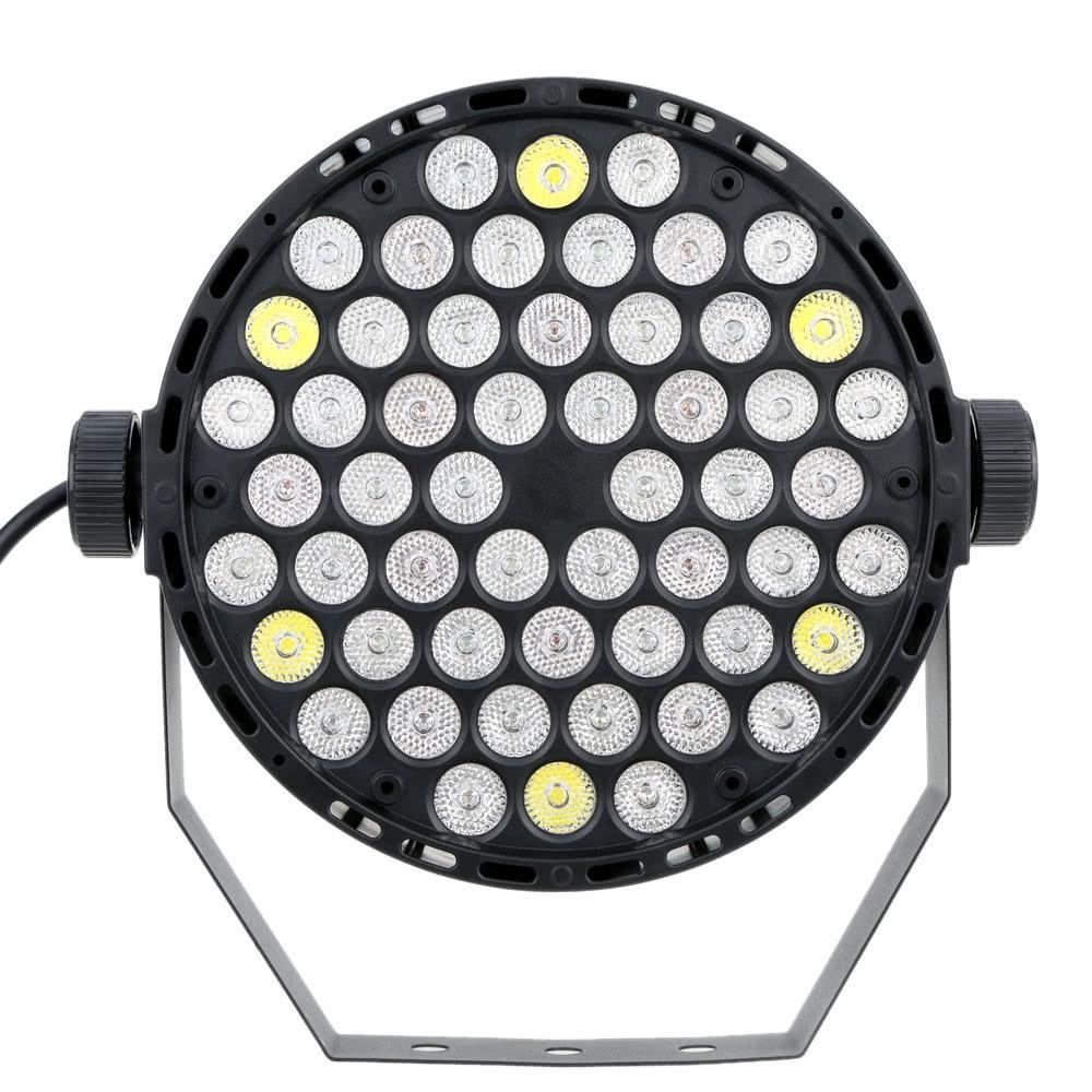 Professional Stage PAR Light 54W 54LEDs DMX-512 RGBW Strobe Light DJ Disco Staining LampProfessional Stage PAR Light 54W 54LEDs DMX-512 RGBW Strobe Light DJ Disco Staining Lamp