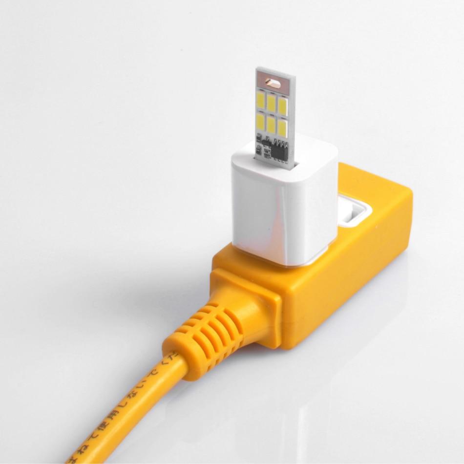 Livarno led night light - Light Dimming Mobile Camping Lamp 6led Night Light Card Usb Gadgets For Power Bank Comupter