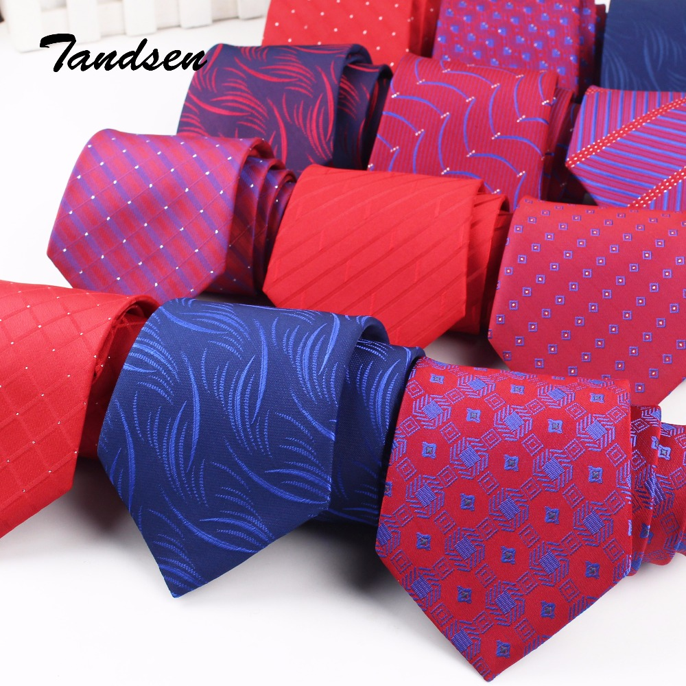 8cm Claret-red Men Women Wedding Tie Business Tie Formal Striped Jacquard  Necktie  Classic Corbata Neckwear Gravata