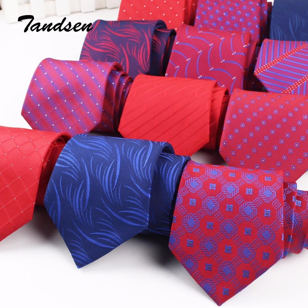 8cm Claret-red Men Women Wedding Tie Business Tie Formal Striped Jacquard  Necktie  Classic Corbata Neckwear Gravata