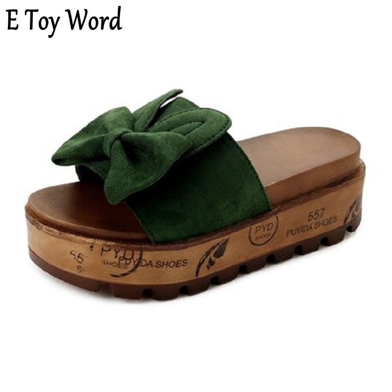 E TOY WORD HOT South Korean version of the women's slippers summer fashion dress 2018 new students casual harajuku beach shoes pregnant women dress new fashion korean version fall