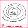 Carraton NSYS6006 Sólida Plata de ley 925 Collar de Cadena Rolo