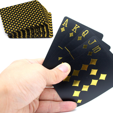 55pcs/deck poker cards PVC Plastic playing cards Waterproof Frost pokerstars Board games classic magic tricks tool poker game
