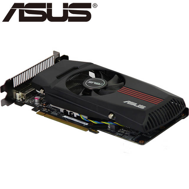 US $35 99  ASUS Graphics Cards HD 7770 1GB 128Bit GDDR5 Video Card for ATI  Radeon HD7770 VGA Cards Used Equivalent GTX 750 GTX650 Ti-in Graphics Cards