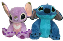 ФОТО Original Special Novelty Stitch Girl Friend Angel Love Plush Toy Doll Birthday Gift Children Gift Limited Collection