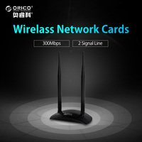 ORICO RA28 BK Mini 300Mbps USB WiFi Wireless Networking Lan Card Adapter Black