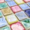 Colorful Polished Porcelain Tiles Mosaic Kitchen Backsplashl Tile Bathroom Floor Tiles Classic Color Ceramic Wall Tiles