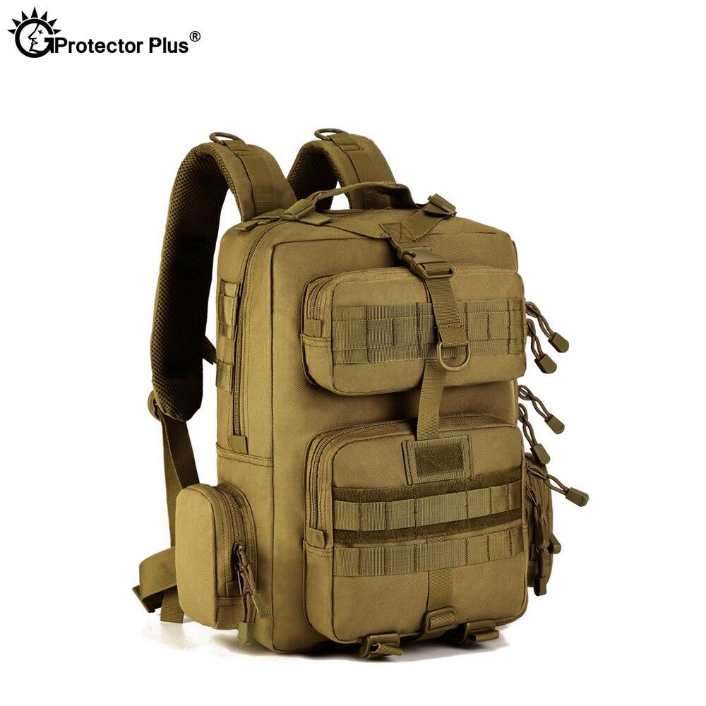 Protecteur PLUS militaire MOLLE sac à dos tactique pistolet sac désert patrouille sac à dos Camo chasse de haute qualité en plein air voyage armée