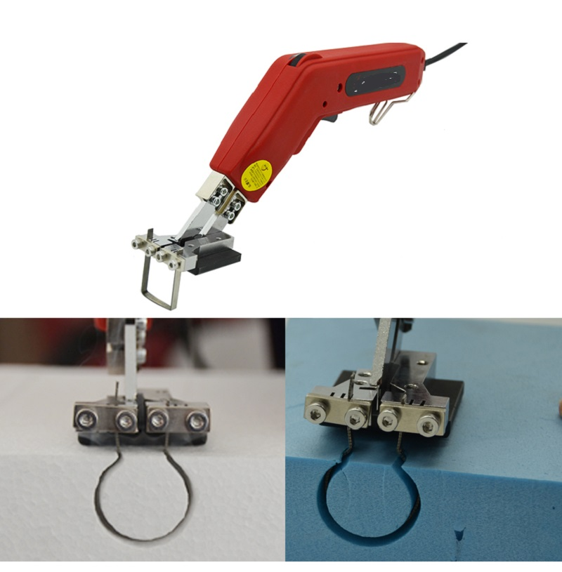 New Professional Thermal Cutting Equipment Slot Cutting Kit Hot Knife Foam Heat Cutter Kit Styrofoam Cutter